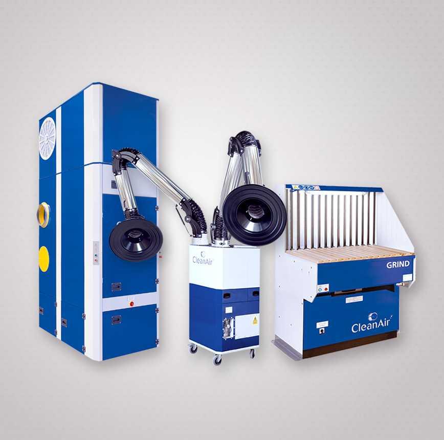 Urządzenia filtrowentylacyjne